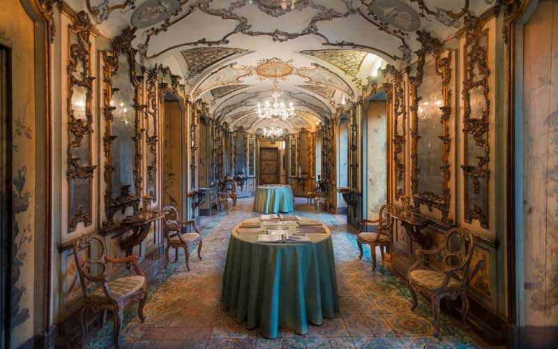 Galleria Uccelli | Palazzo Biscari