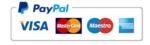 Acquisto sicuro con Paypal & Carta di credito