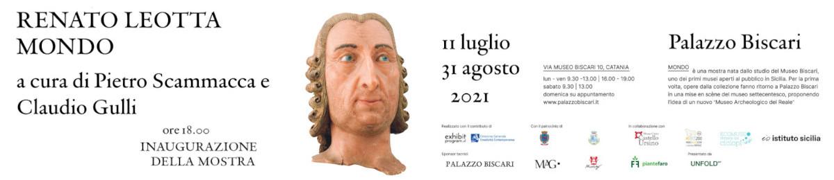 Mostra Luglio 2021 - Palazzo Biscari